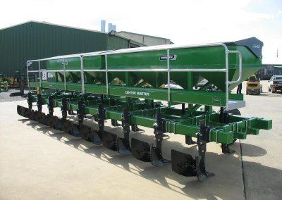 Row Crop Fertiliser Rig
