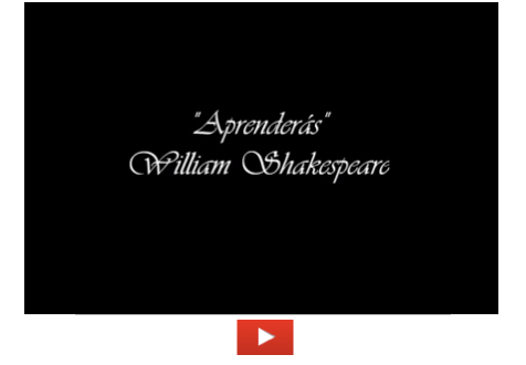 Aprenderás (William Shakespeare)