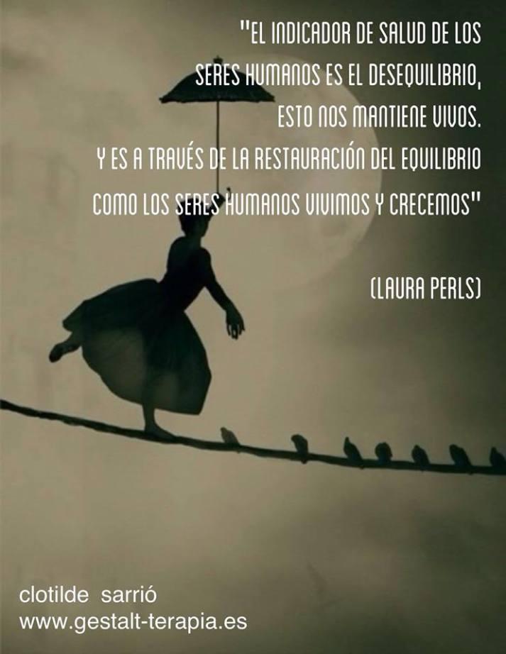 Equilibrio. Desequilibrio, Terapia Gestalt Valencia - Clotilde Sarrió
