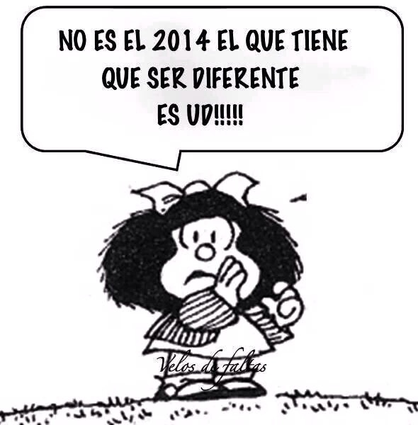 Año nuevo, 2014, Clotilde Sarrió - Terapia Gestalt Valencia