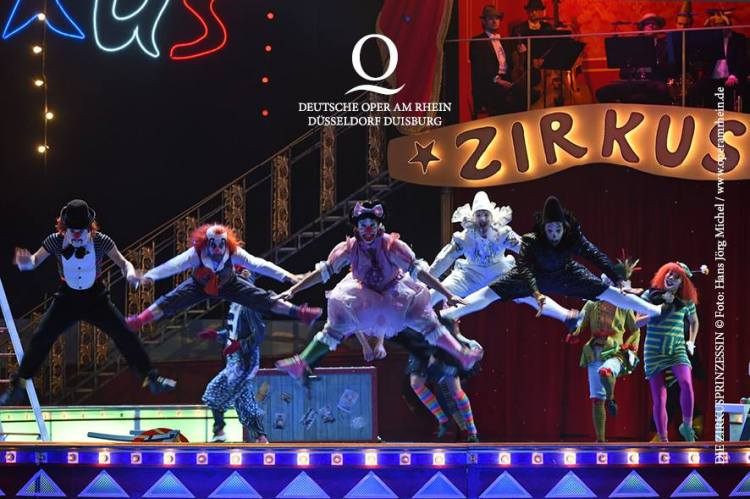 Opernscout Zirkusprinzessin Oper am Rhein