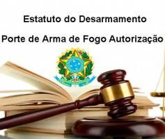Porte de Arma de Fogo Autorização – Estatuto do Desarmamento
