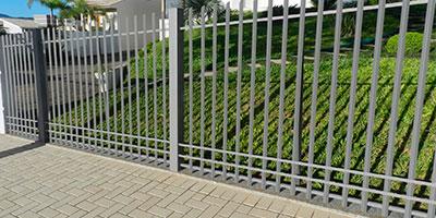 Cercaduras Aplicadas Como Barreira de Segurança Física