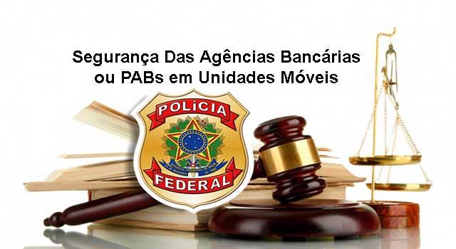 Segurança Das Agências Bancárias ou PABs