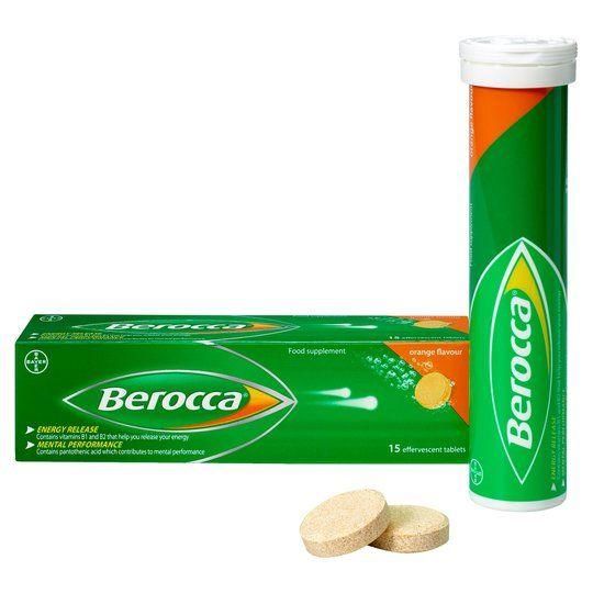 Berroca tablets