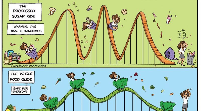 blood sugar rollercoaster