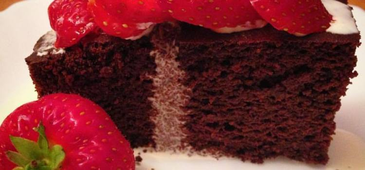 low carb nut free chocolate cake