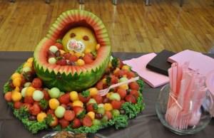 baby shower fruit platter
