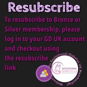 resubscribe to membership