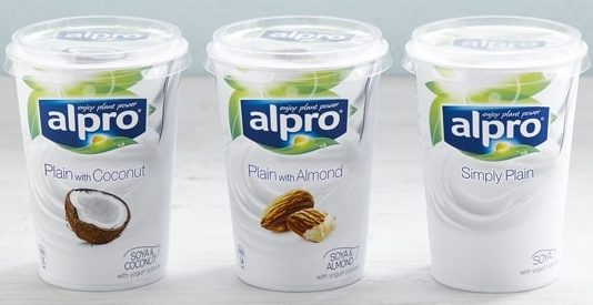 Alpro simply plain