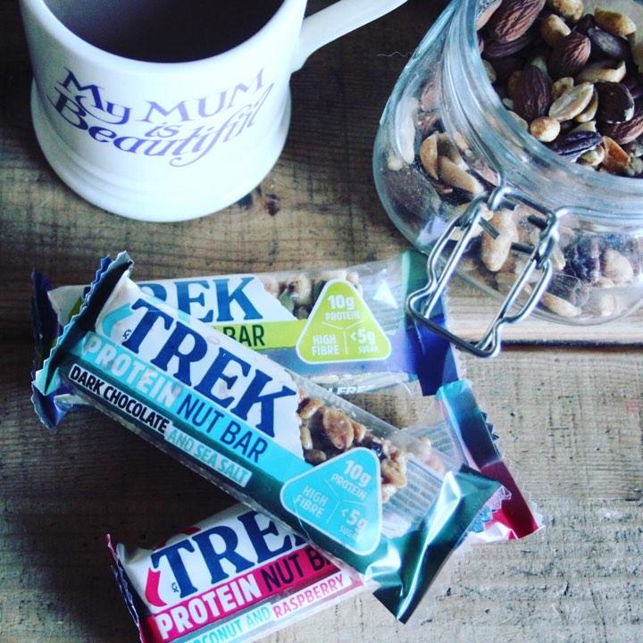 Trek Protein Nut Bars