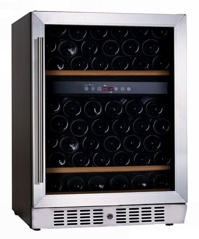 Wijnklimaatkast 2 temperatuurzones 162