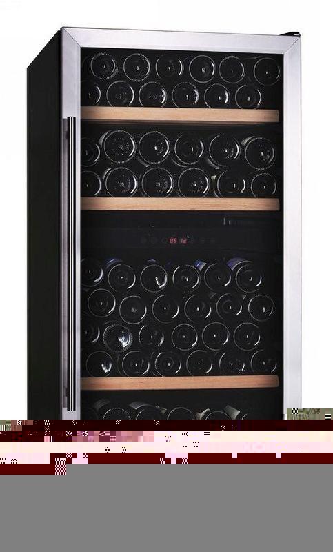 Wijnklimaatkast 2 temperatuurzones 281