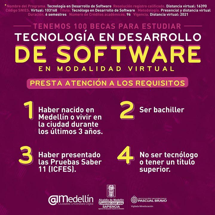 100-becas-para-tecnologo-en-desarrollo-de-software-alcadia-de-medellin-pascual-bravo-arroba-medellin