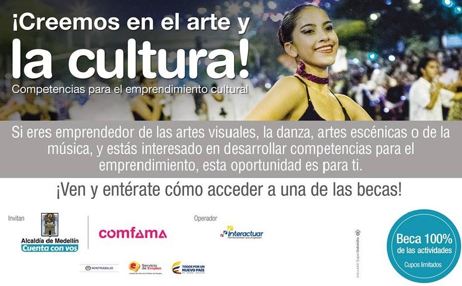 creemos-en-el-arte-y-la-cultura-competencias-para-el-empredimiento-cultural-comfama-interactuar-alcadia-de-medellin