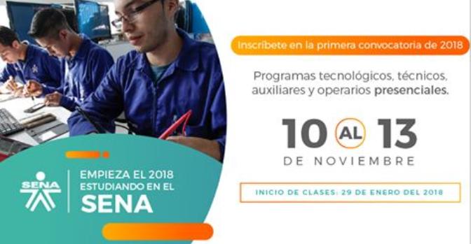programas-tecnicos-tecnologicos-auxiliares-y-operarios-sena-10-al-13-de-noviembre-2017