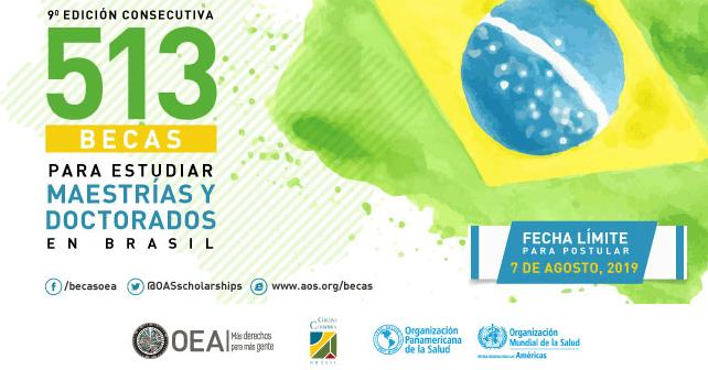 novena-edicion-de-las-becas-brasil-paec-oea-gcub