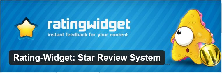 Plugin Rating-Widget: Star Review System