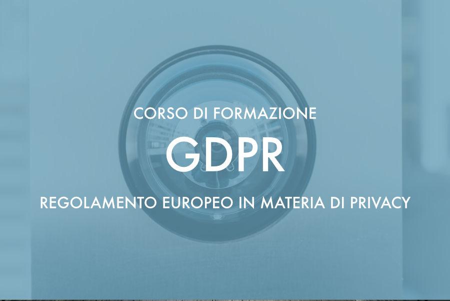 Corso sul Regolamento Europeo in materia di Privacy – Sassari 25 gennaio 2019