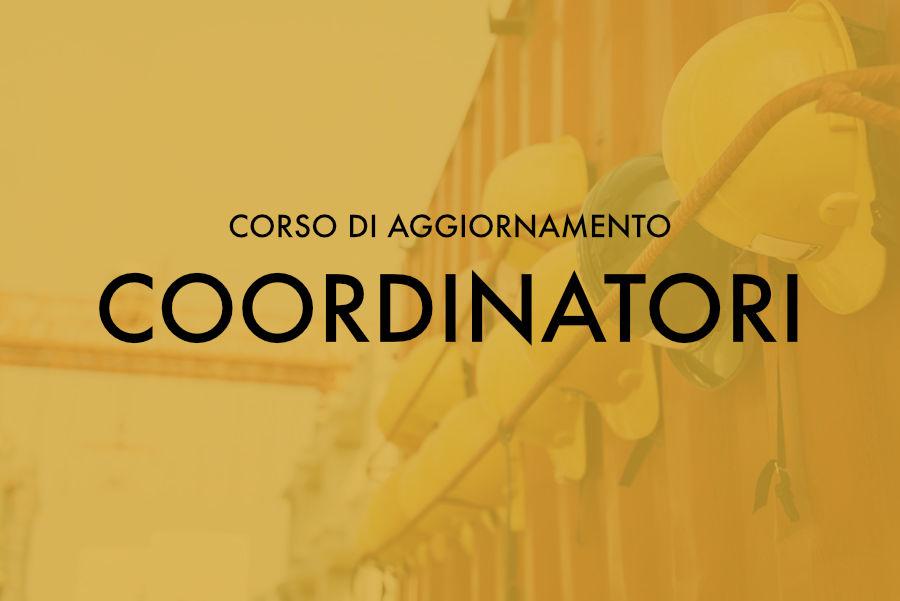 Corso di Aggiornamento per Coordinatori – Sassari novembre 2018