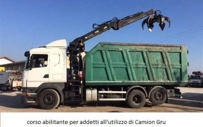 Corso per Addetto all'utilizzo del Camion Gru o Autogru e relativo Aggiornamento – Olbia Maggio 2019
