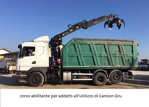 Corso per Addetto all'utilizzo del Camion Gru e Aggiornamento – Olbia Gennaio 2019