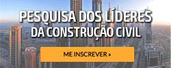 Pesquisa dos Líderes da Construção Civil - Gestor de Obras