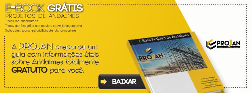 Banner Projan - Projetos de Andaimes