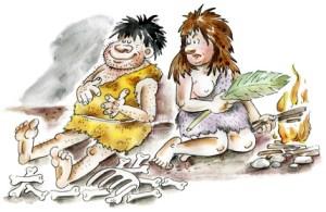 Barfuß in der Steinzeit