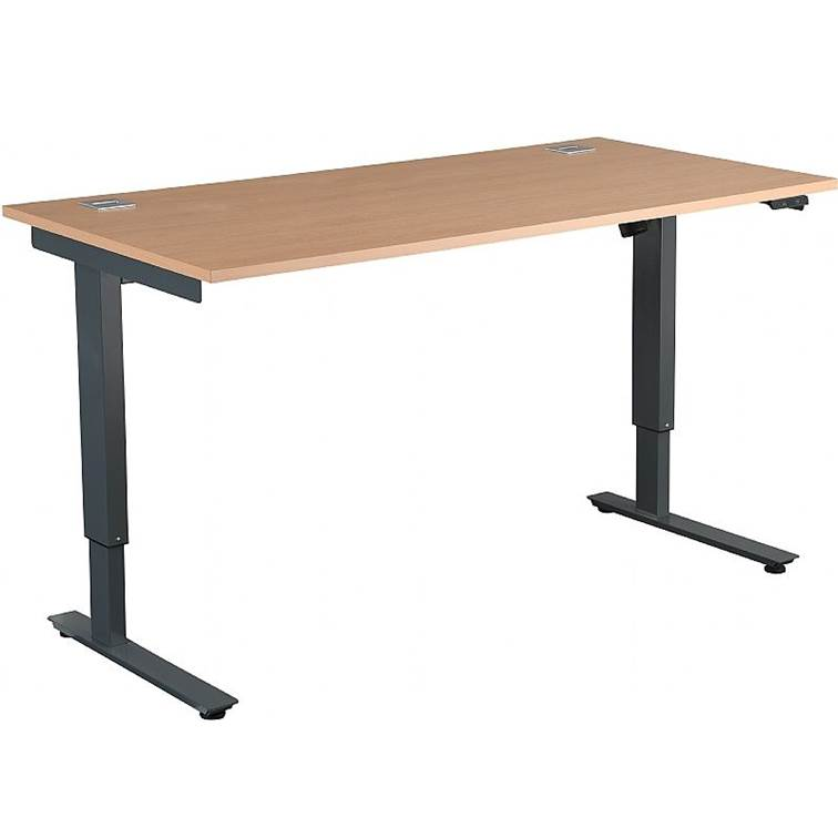 Elektrisch höhenverstellbarer Karbon Schreibtisch