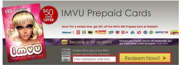 Imvu Prepaid Card Free | Applycard co