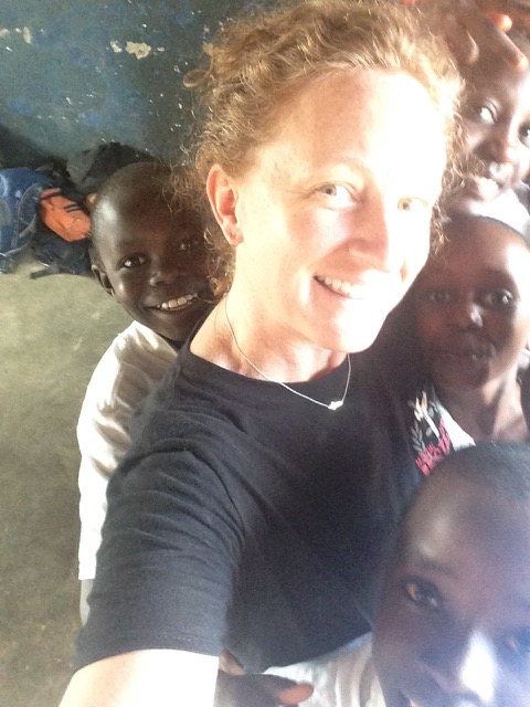 Ugandan school children