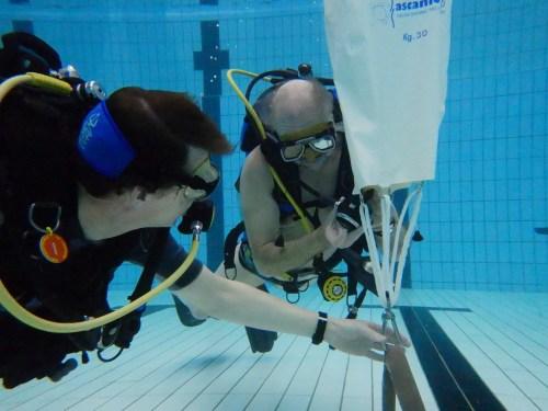 Get Wet Den Haag, zwembad perslucht training