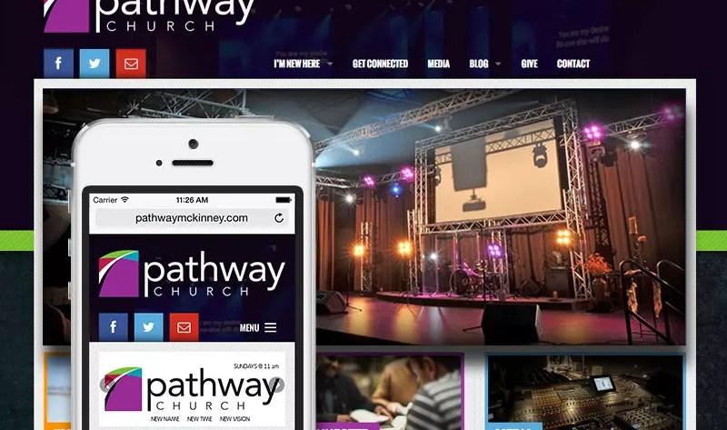 Pathway Church of McKinney Website Design