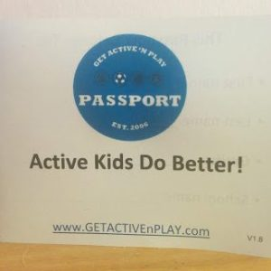 Get Active 'N Play Challenge Booklets