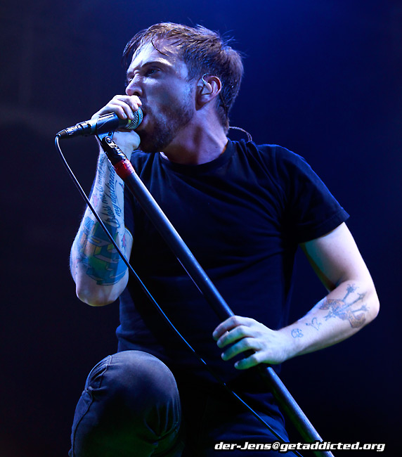 Billy Talent in Bielefeld 2009, Foto: Jens Becker