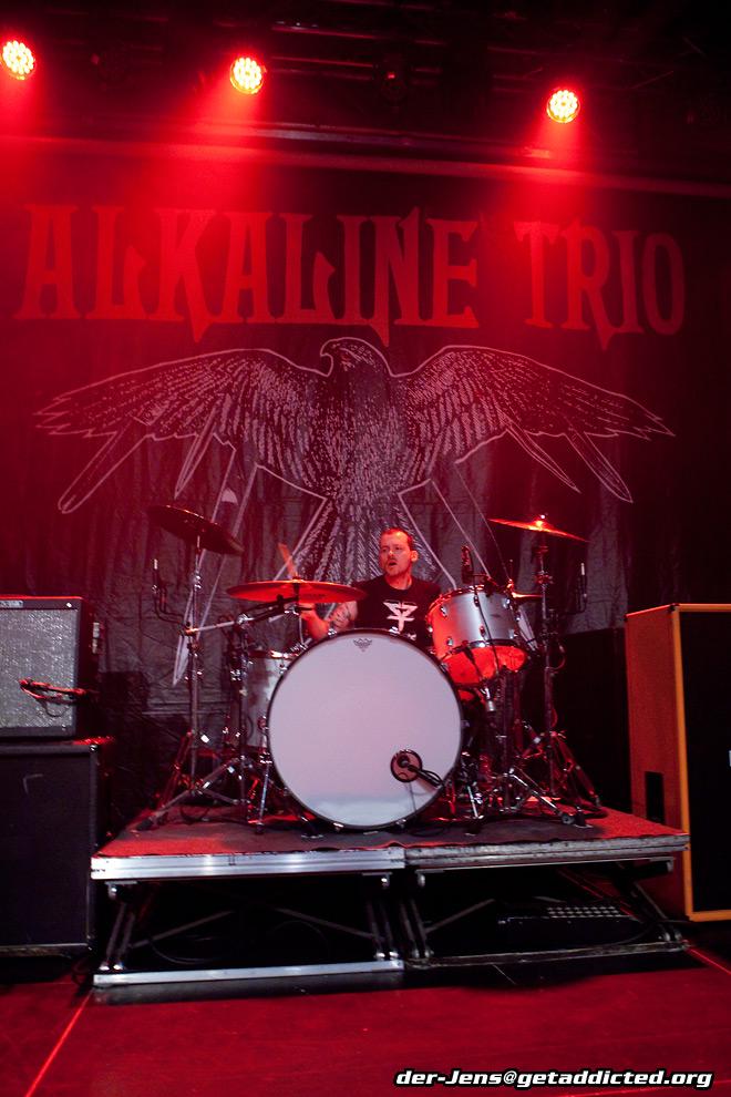 Alkaline Trio in Köln 2014, Foto: Jens Becker