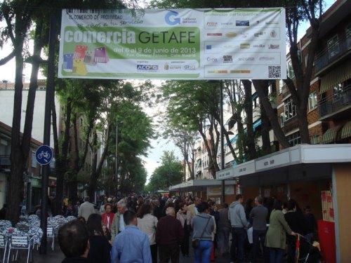 Feria Comercia 2013, perteneciente a la red de ferias de la Comunidad de Madrid