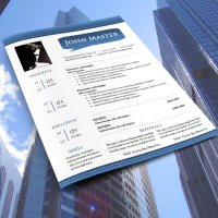 Free resume template #733 - 739