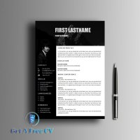 Everest CV Resume Template