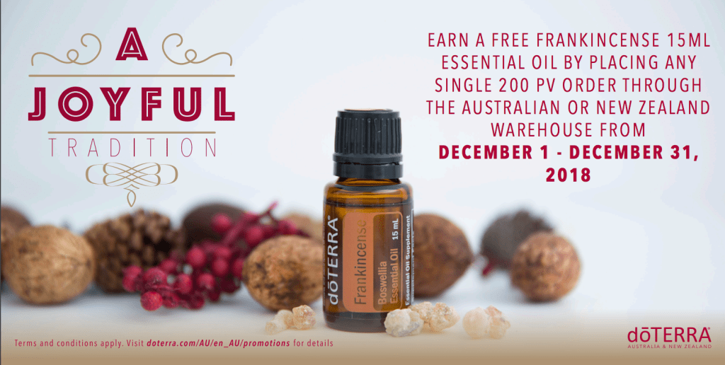 Have You Got Your Free Frankincense? + How to Use - Get a Fresh Start
