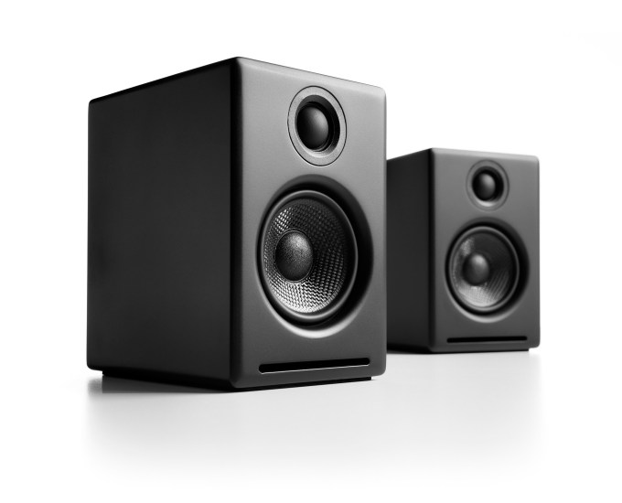 Audioengine A2+ Premium Powered Audiophile Desktop Speakers-BLACK