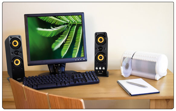 Gigaworks T40 Series II 2.0 High end Speakers