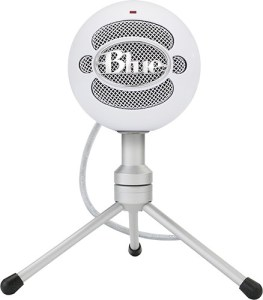 Snowball USB Microphone (Textured White) from Blue Microphones Image