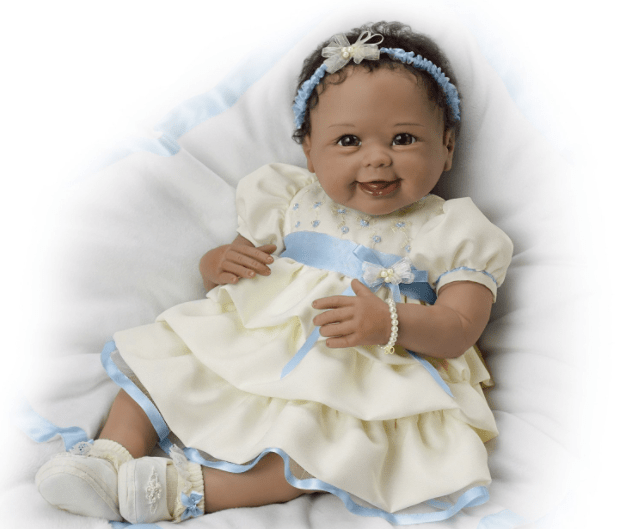 "21"" Linda Murray Baby Doll Real Baby Doll"