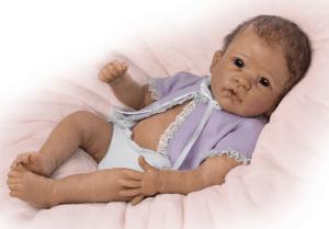 Linda Murray Real Poseable Newborn Baby Girl Doll