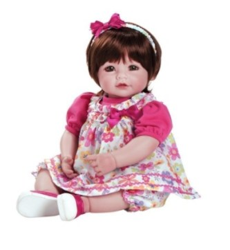 Adora Toddler Love & Joy Cuddly Vinyl Snuggle Soft Body Toy Girl Doll