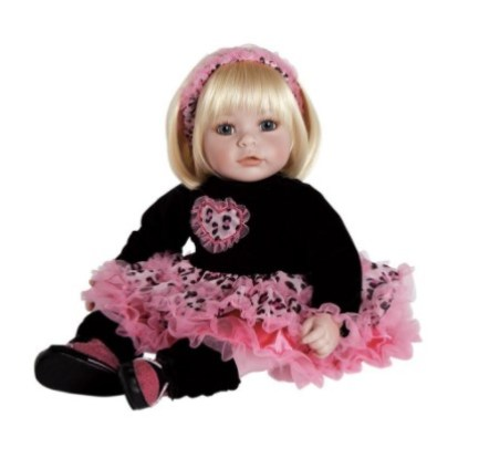 Adora Toddler Ready to Rock Girl Reborn Doll With Soft Body Touch