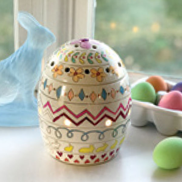 Get the NEW Eggspress Yourself Warmer, Scentsy's March 2020 Warmer of the Month, on sale NOW at getascent.com!