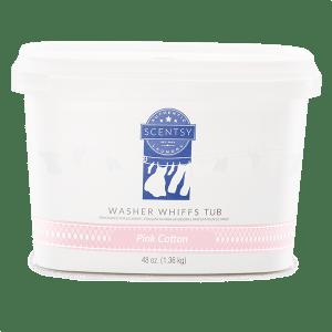 Pink Cotton Washer Whiffs Tub